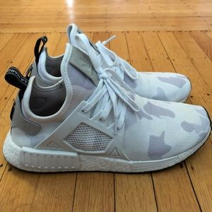 Adidas NMD XR1 - White Duck Camo - Mens size 11